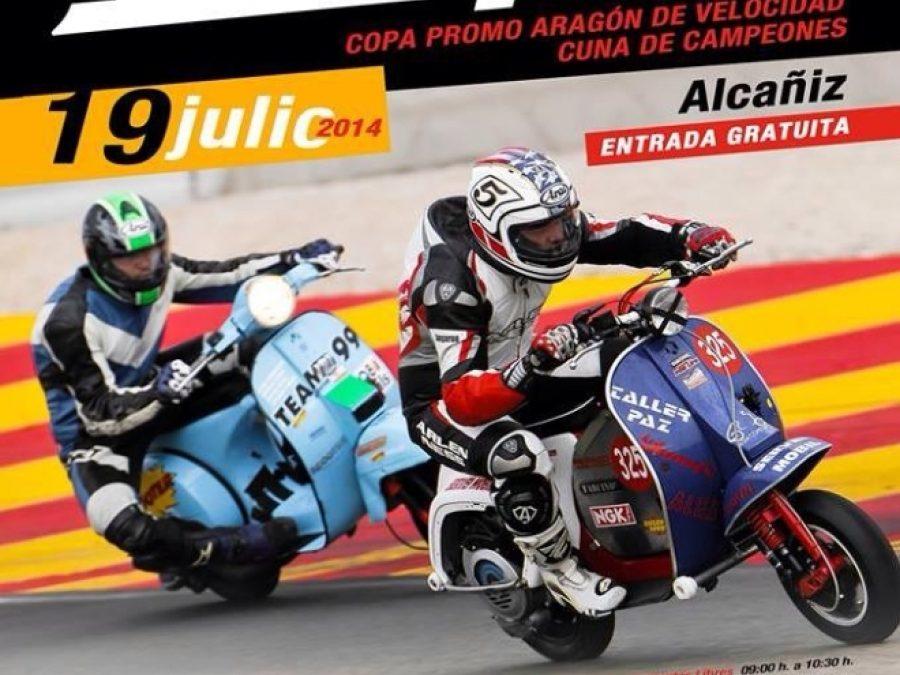 6 Horas resistencia Vespa en Motorland Aragón