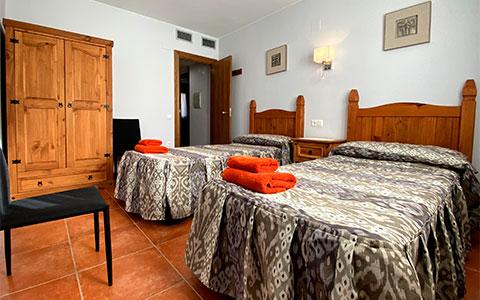 Habitación doble apartamento Juan Luis