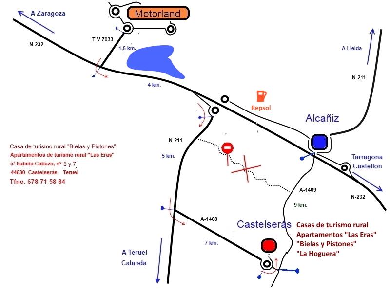 Plano Motorland Castelseras