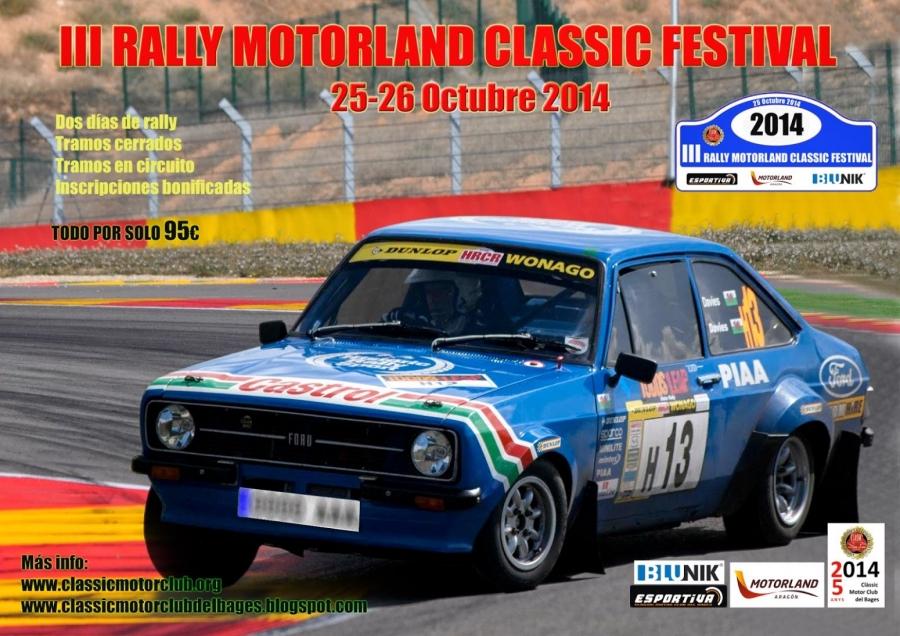 III Rally motorland classic festival