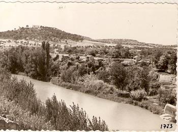 Foto antigua rio por Castelseras
