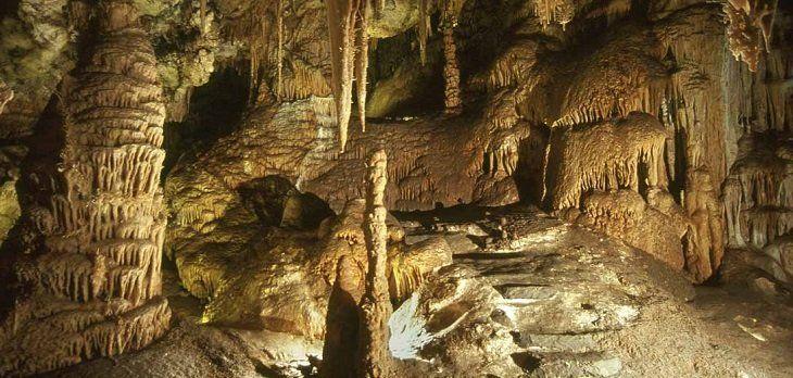 Las grutas de cristal de Molinos