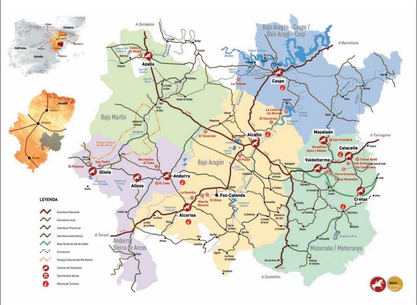 Ruta de los Íberos en el Bajo Aragón